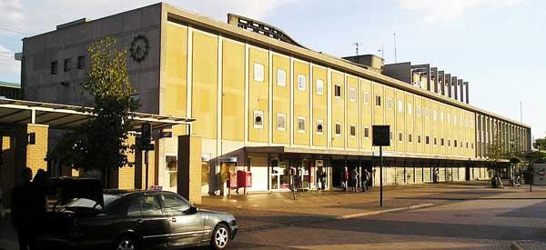 Mechelen Station building