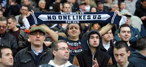 This popular phrase has come to sum up Millwall FC according to the fans.
