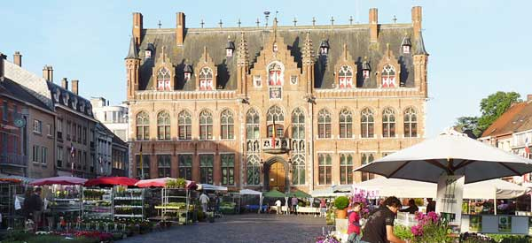 Mouscron town hall