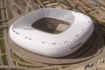 Allianz Arena from above