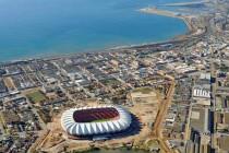 Aerial View of Nelson Mandela Stadium