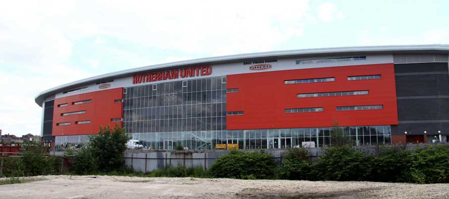 New York Stadium's grass