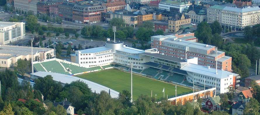 Aerial View Norrporten Arena