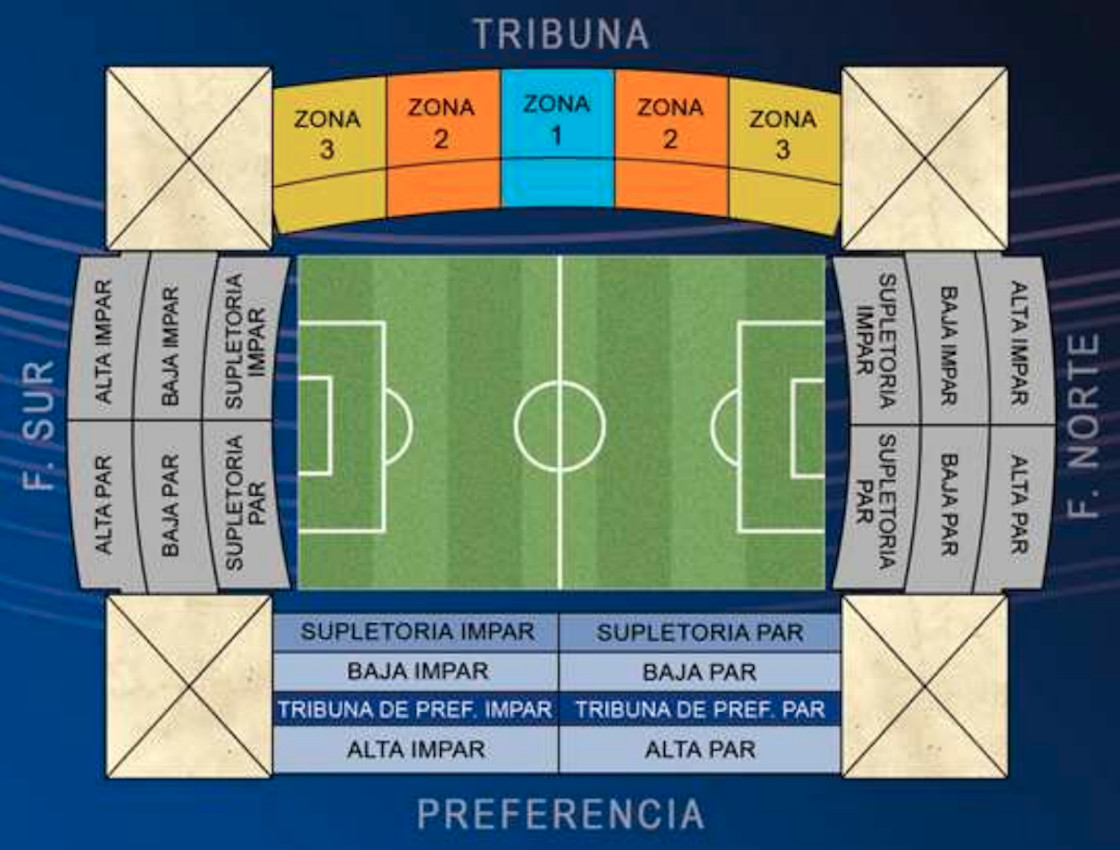 Nuevo Mirandilla Seating Plan