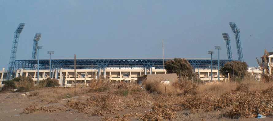 Exterior view of OFI Crete Stadium