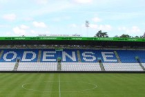 Odense Tre For Park Stadium's main stand