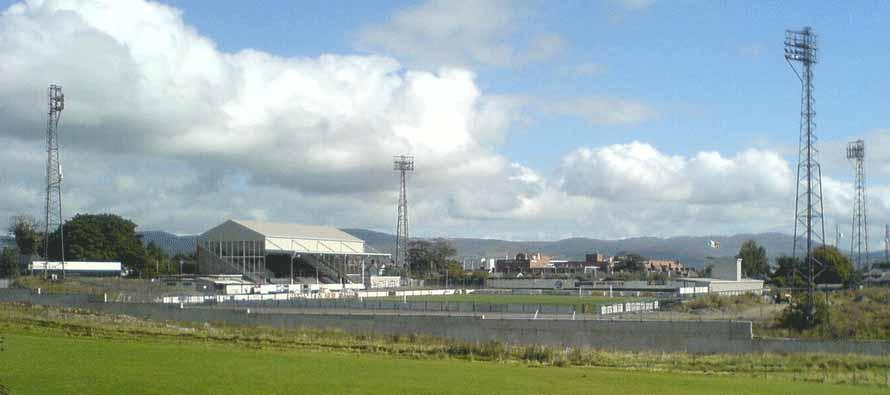 Oriel Park Dundalk pitch