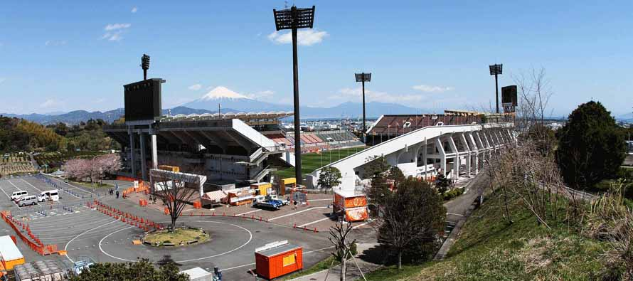 Exterior of Nihondaira IAI Stadium