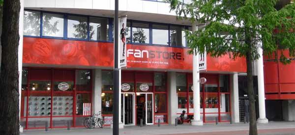 PSV-fanstore-Eindhoven