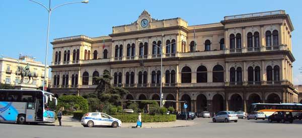 Exterior or Palermo Stazione