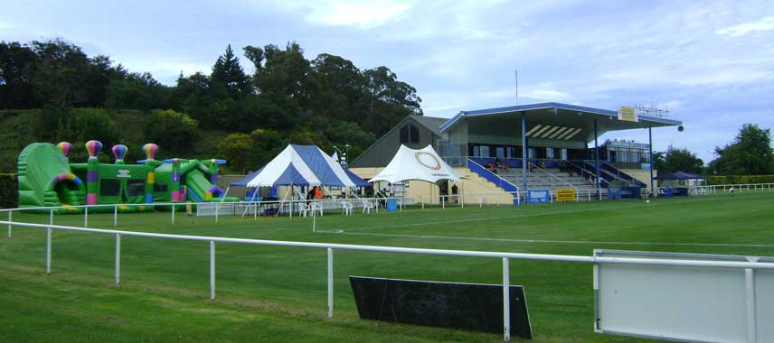 The pitch at Park Island Stadium