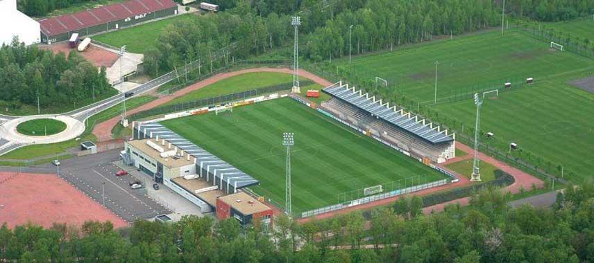 Aerial view of Patrostadion