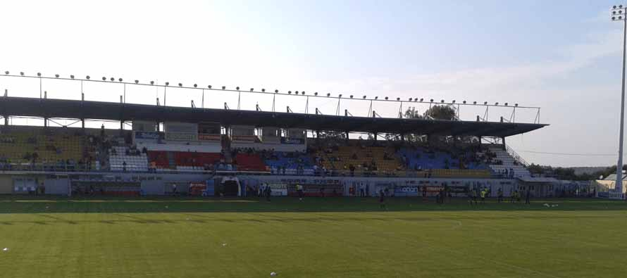 Inside Perivolia Municipal Stadium