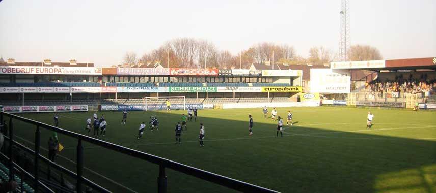Inside Pierre Cornelis stadium