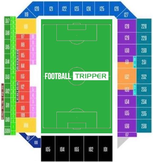 Q2 Stadium Seating Plan