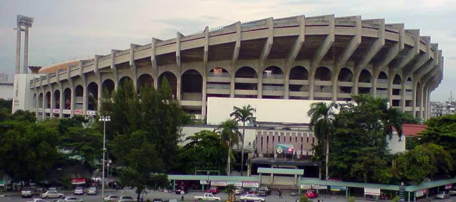 Exterior of Thailand's national stadium