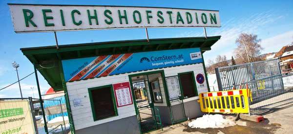 Exterior of Reichshofstadion