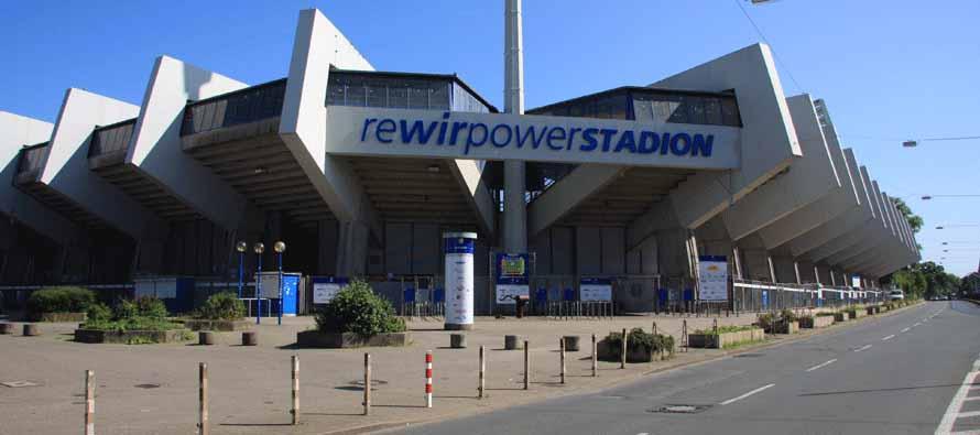 main sign of rewirpowerstadion