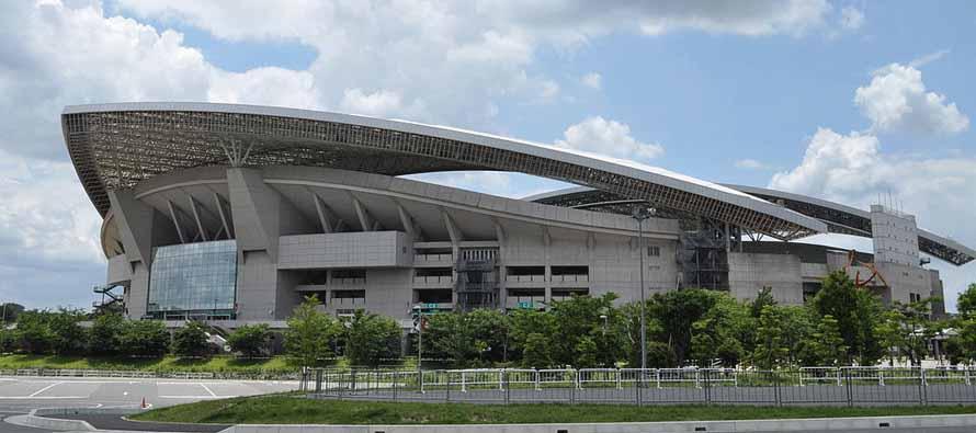 Exterior of Saitama Stadium 2002