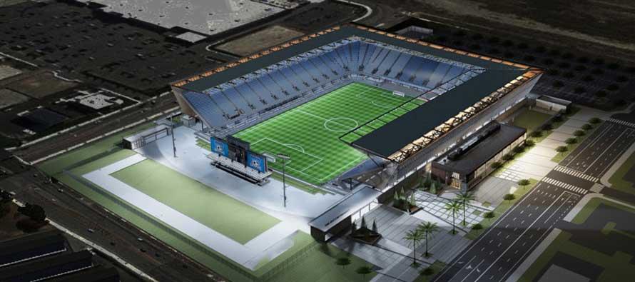 San Jose Avaya Stadium Render