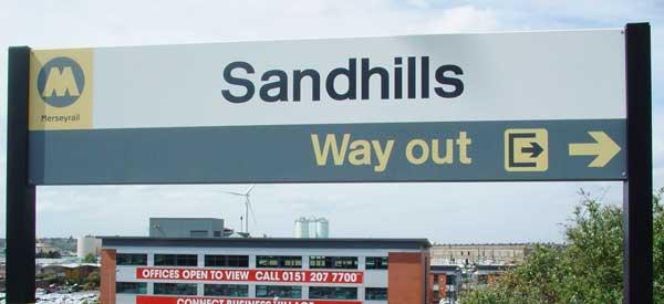 Sandhills Station Goodison Park