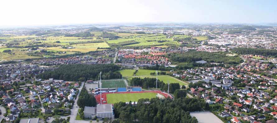 Sandnes Idrettspark Stadion