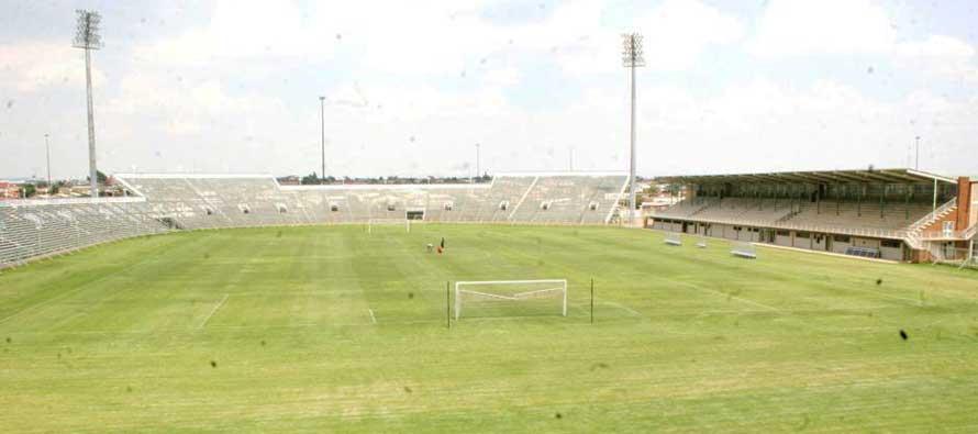 Interior of Seisa Ramabodu Stadium