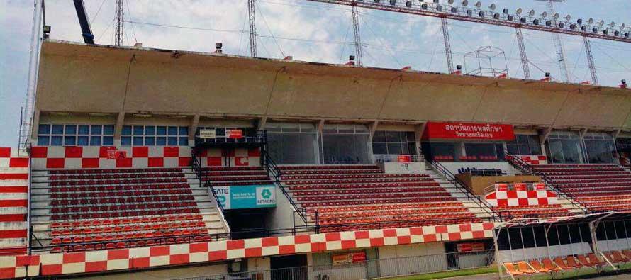 The main stand of Siasaket stadium
