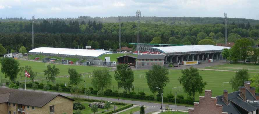 External view of Silkeborg Stadion