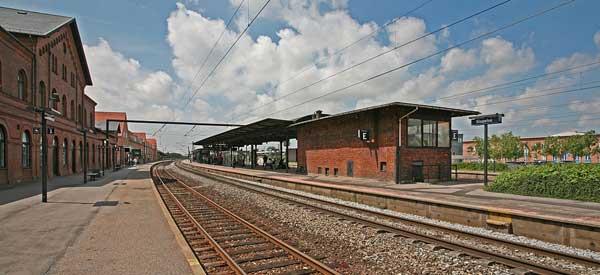 Slagelse train station