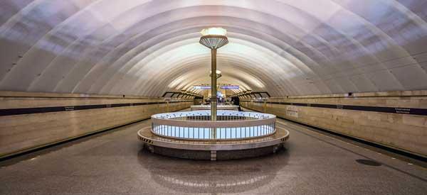 Inside Sportinavya Metro Zenit