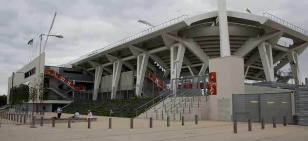 Exterior of Stade Auguste Delaune