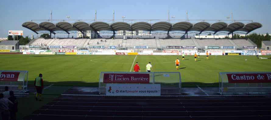 Stade Rene Gaillard main stand