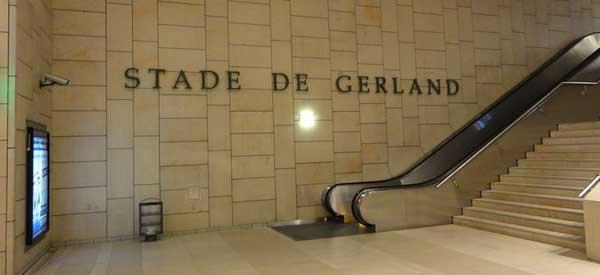 Stade de Gerland Metro