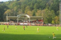 The main stand of Stade du Thillenberg