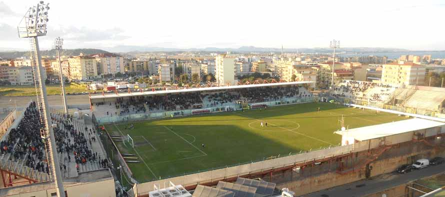 Aerial View of Stadio Ezio Scida