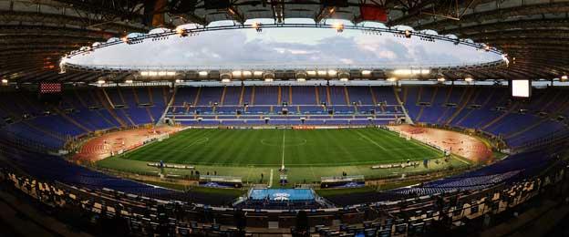 Inside Stadio Olimpico