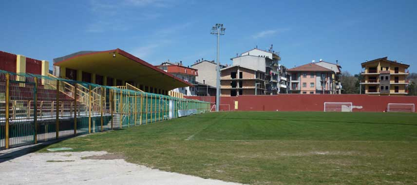 Inside Stadio Valentino Mazzola