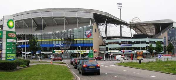 Exterior of Stadion Galgenwaard