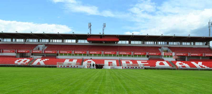 Stadion Mladost Krusevac main stand