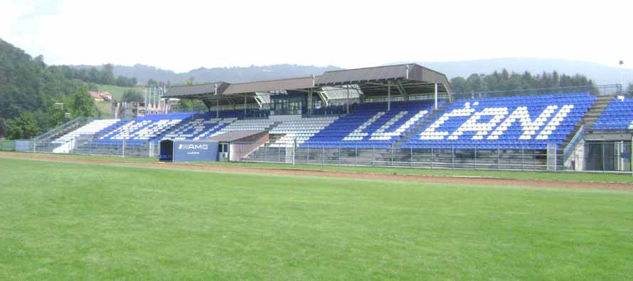 Stadion Mladost Lucani pitch