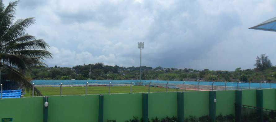 Overlooking Persiba Stadium