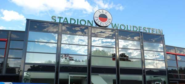 Main entrance of Stade Woudestein