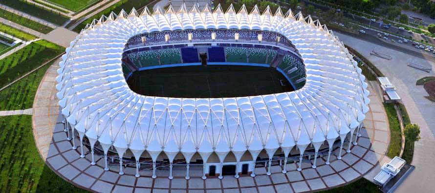 Birdseye view of Bunyodkor Stadium
