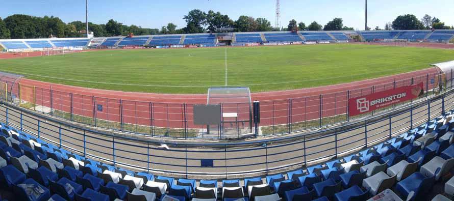 Stadionul Emil Alexandrescu panorama