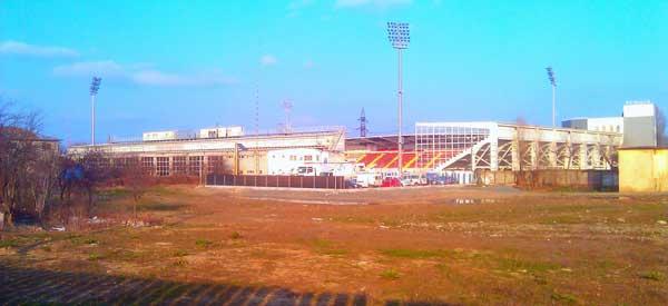 Exterior of Stadionul Marin Anastasovici