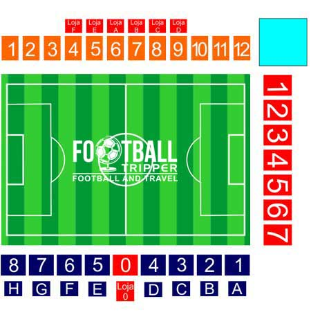 FC Astra Giurgiu seating plan