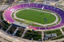 Aerial view of Dan Paltinisanu stadium