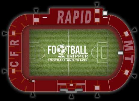 Stadionul Giulești-Valentin Stănescu map