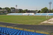 Inside Stadionul Orasenesc in Balti